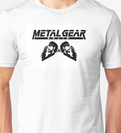 METAL GEAR SNAKE Unisex T-Shirt
