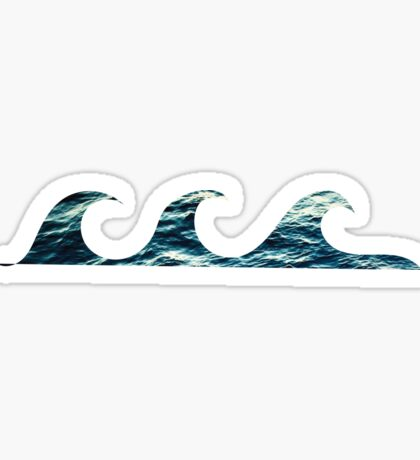 Waves 2 Sticker