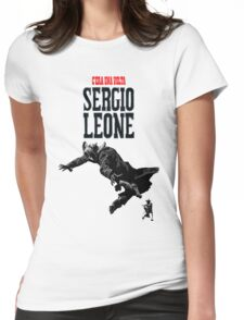 SERGIO LEONE Womens Fitted T-Shirt