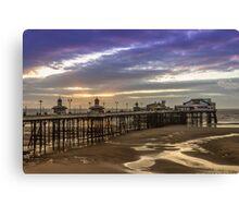 Blackpool North Pier Canvas Print