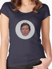 Tucker Carlson #2 Women's Fitted Scoop T-Shirt