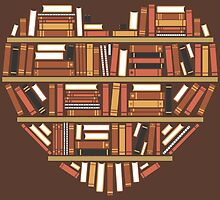 I Heart Books by renduh