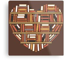 I Heart Books Metal Print