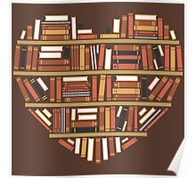 I Heart Books Poster