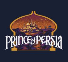 Prince of Persia Pixel Style- Retro DOS game fan shirt by hangman3d
