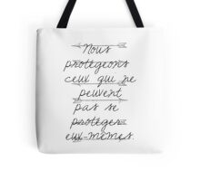 The Code  Tote Bag