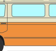VW T3 - Orange - Cream Sticker