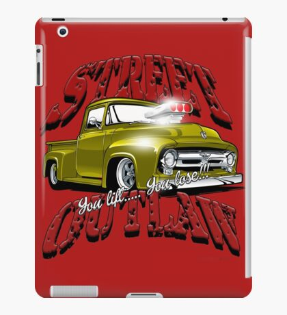 Street Outlaw you lift you lose 2 iPad Case/Skin