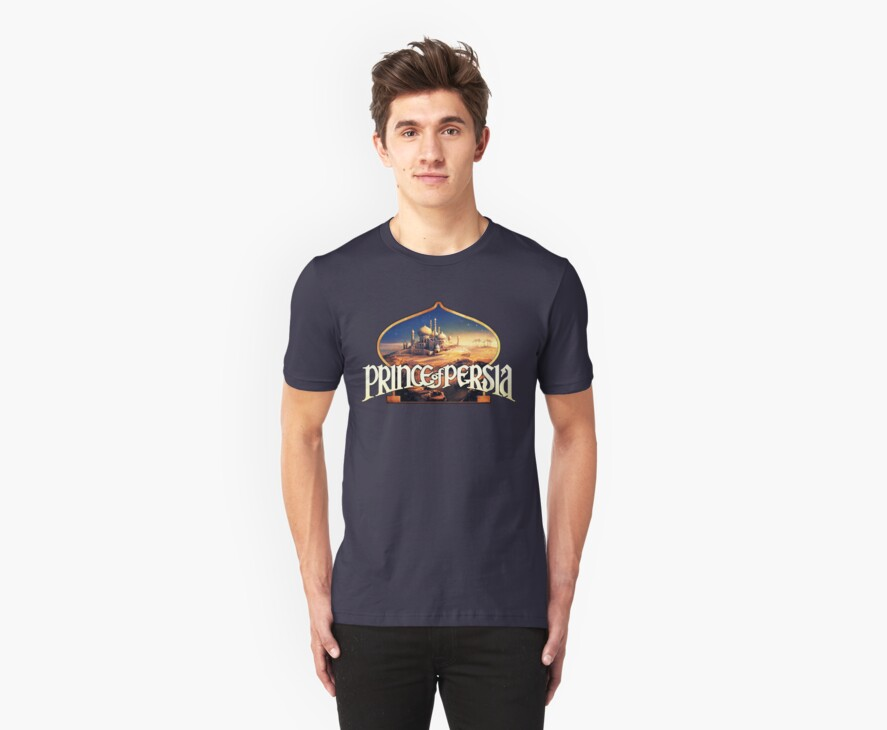 Prince of Persia Retro Realistic Style - DOS game fan shirt by hangman3d