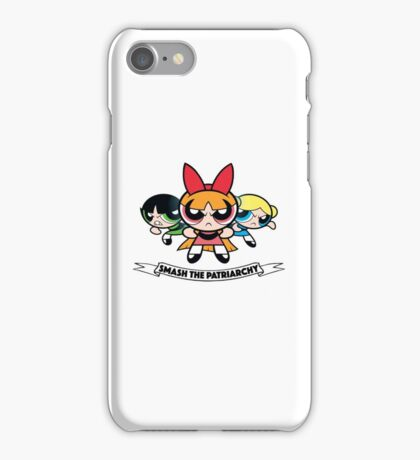 Powerpuff Girls // Smash the Patriarchy iPhone Case/Skin