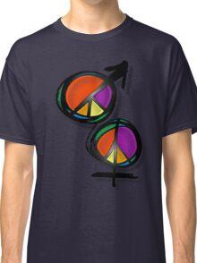 men women peace Classic T-Shirt
