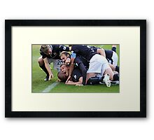 That winning feeling Framed Print