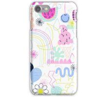 Soft Pop Summer Fun iPhone Case/Skin