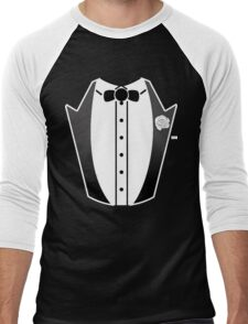 Tuxedo Costume T Shirt Men's Baseball ¾ T-Shirt