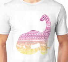 Colorful Aztec Dinosaur!  Unisex T-Shirt
