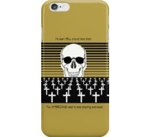 It's been HELL this Year!  You AMERICANS need to stop shooting everyone! iPhone Case/Skin