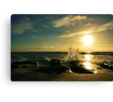 Salute to the Sun Canvas Print