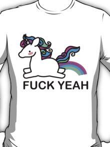 Pastel coloured unicorn T-Shirt