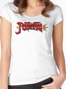Magic Knight Rayearth (SNES) Women's Fitted Scoop T-Shirt