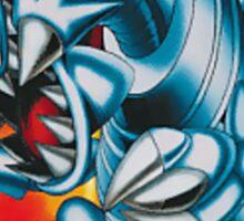 smal blue toon Sticker