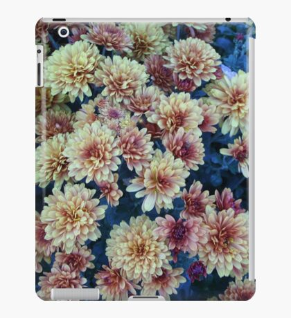 Flowers in the Fall....version II iPad Case/Skin