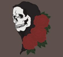 Grim reaper and roses by brokensixteen