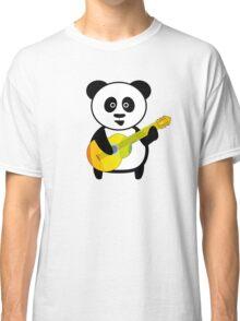 Guitar playing panda Classic T-Shirt