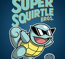 Super Squirtle Bros. by moysche