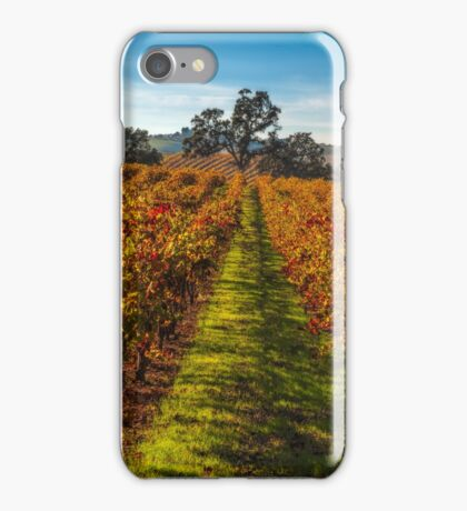 Paso Robles Vineyard iPhone Case/Skin