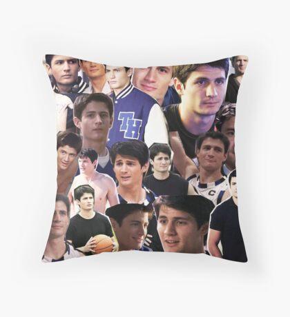 nathan scott collage 2 Throw Pillow