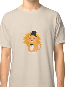 Lion with bow tie  Classic T-Shirt