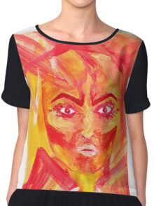 The Face of Fury Chiffon Top