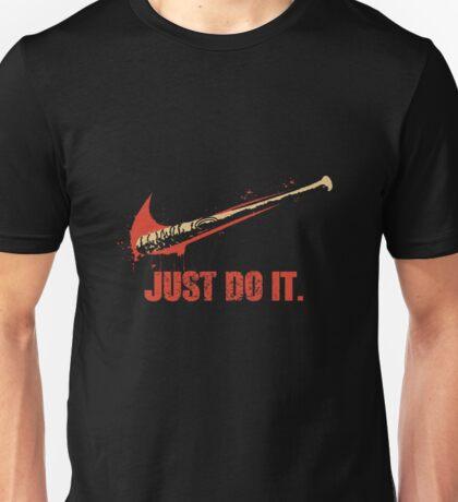 "JUST DO IT ""LUCILLE"" Unisex T-Shirt"