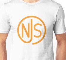 NJS stamp (orange print) Unisex T-Shirt