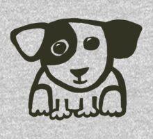 cute puppy 1 Kids Tee