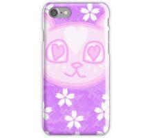 Kawaii Sakura Panda  iPhone Case/Skin