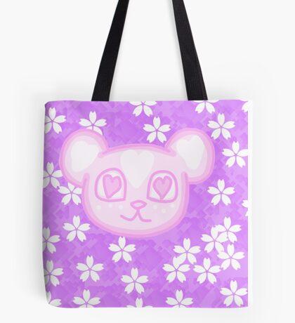 Kawaii Sakura Panda  Tote Bag