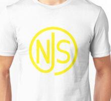 NJS stamp (yellow print) Unisex T-Shirt