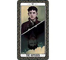 The Outsider Tarot Card Photographic Print