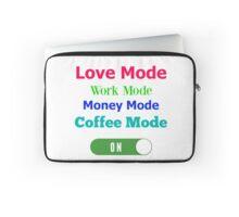 MODE: Love, Work, Money, Coffee-Valentine's Day Laptop Sleeve