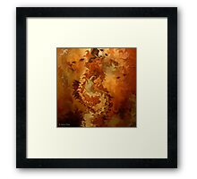 Indian summer- L'ETE INDIEN / Abstract- Pillows & Totes + Cases+Clothing & Stickers Framed Print