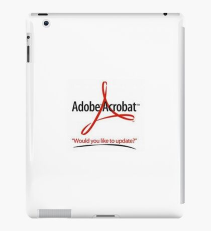 silly advert iPad Case/Skin