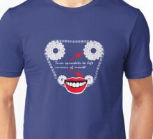 Turn your sprockets to make yourself smile Unisex T-Shirt