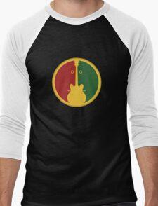 1Guitar 2Players Reggae Men's Baseball ¾ T-Shirt