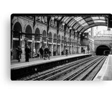 London Tube Station Canvas Print