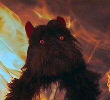My little devil by Nicole  Markmann Nelson