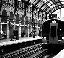 London Tube by Sajeev Chandrasekhara Pillai