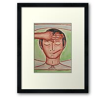 GET WELL SOON 3 Framed Print