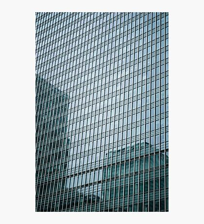 Buildings Relections Photographic Print