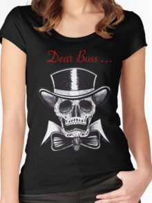Dear Boss  Women's Fitted Scoop T-Shirt
